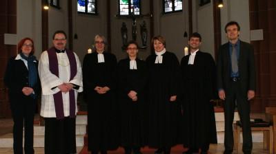 Einführung von Pfarrerin Friederike Höroldt