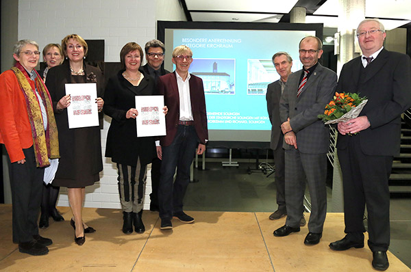 Verleihung des Architekturpreises am 27. November 2015 im LKA. Foto: Sergej Lepke